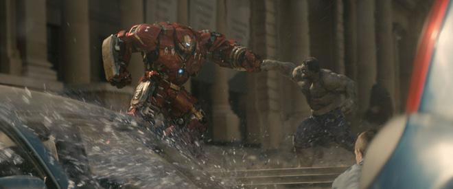 Cuộc đấu tay đôi của Iron Man và Hulk