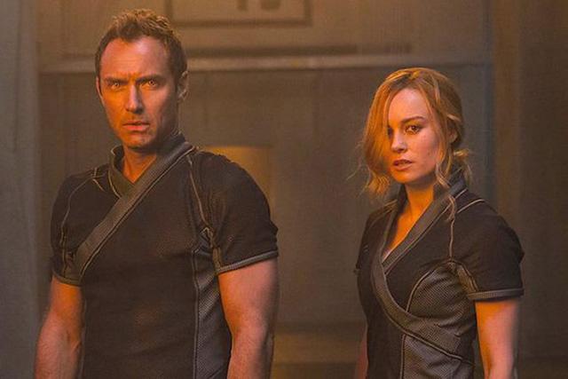 Hình ảnh Jude Law xuất hiện trong Trailer Captain Marvel