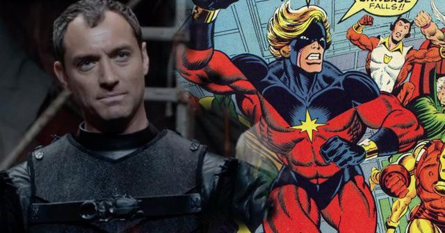Mar-vell chính là phiên bản Captain Marvel đầu tiên trong truyện tranh do Stan Lee và Gene Colan sáng tạo vào năm 1960