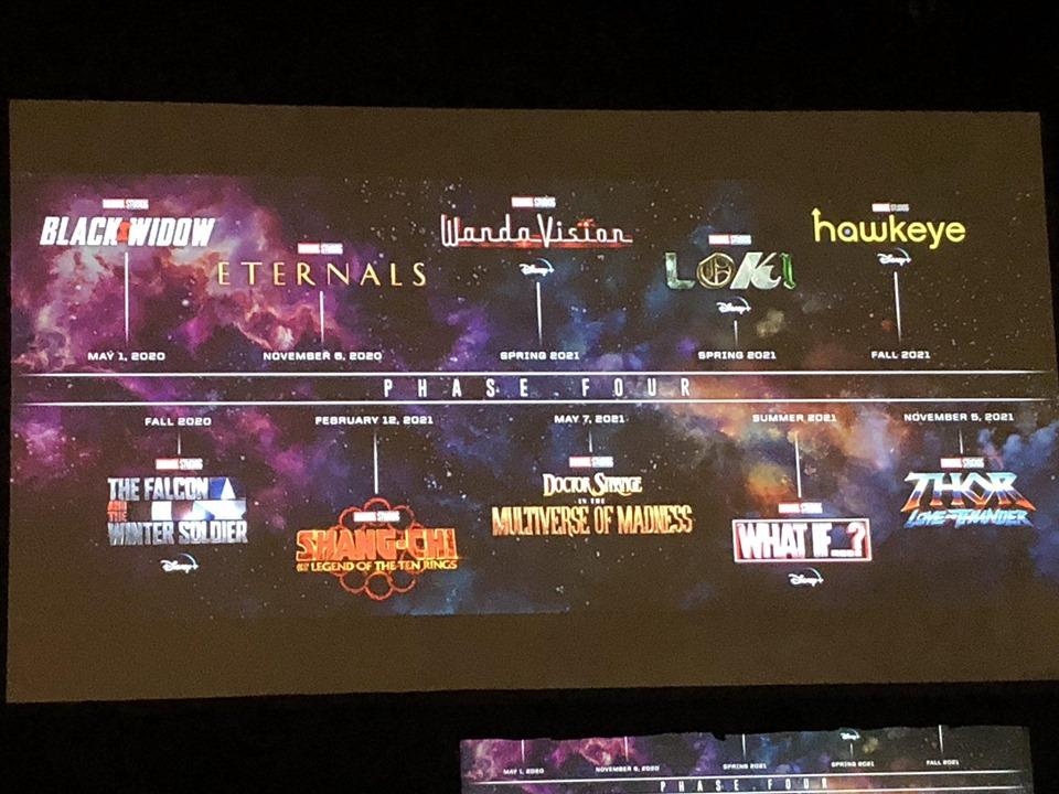 Marvel chính thức công bố 11 bom tấn giai đoạn 4, dội bom khán giả vô số bất ngờ