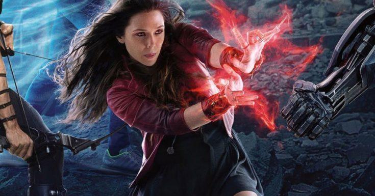 Elizabeth Olsen trong vai Scarlet Witch