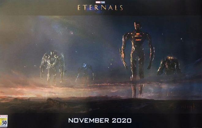 ...và các Celestials trong Vũ trụ Điện ảnh Marvel.