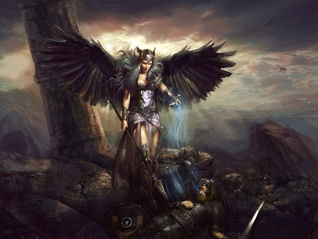 valkyrie nữ chiến binh