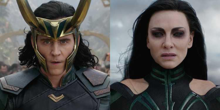 Hela là con của Loki