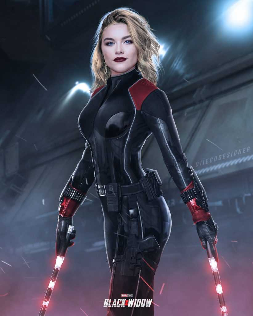 Yelena Belova Black Widow mới