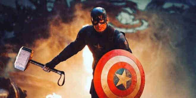 captain xứng đáng cầm búa mjolnir