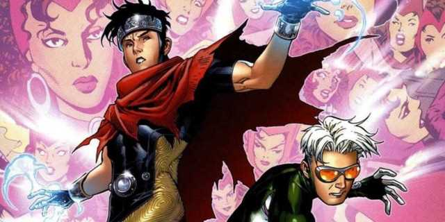 marvel wiccan and speed