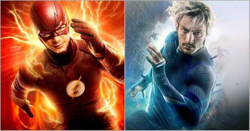 the-flash va quicksilver ai nhanh hon