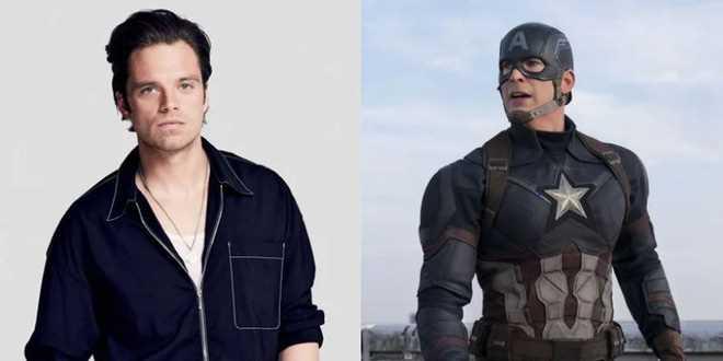 Sebastian Stan (Bucky Barnes/Winter Soldier) đã casting cho vai Captain America