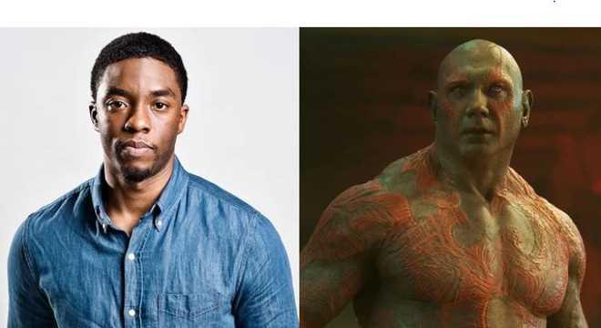 Chadwick Boseman (T'Challa/Black Panther) đã casting cho vai Drax