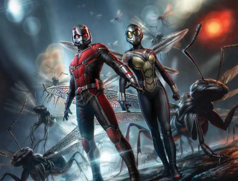 Ant Man thay đỏi kích cỡ và có thể giao tiếp với loài kiến