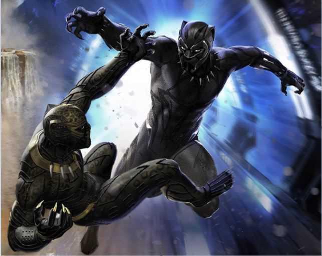 sức mạnh của black panther