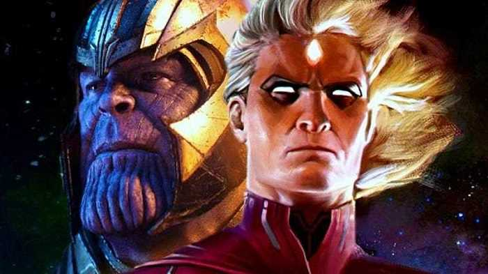 Adam Warlock và Thanos