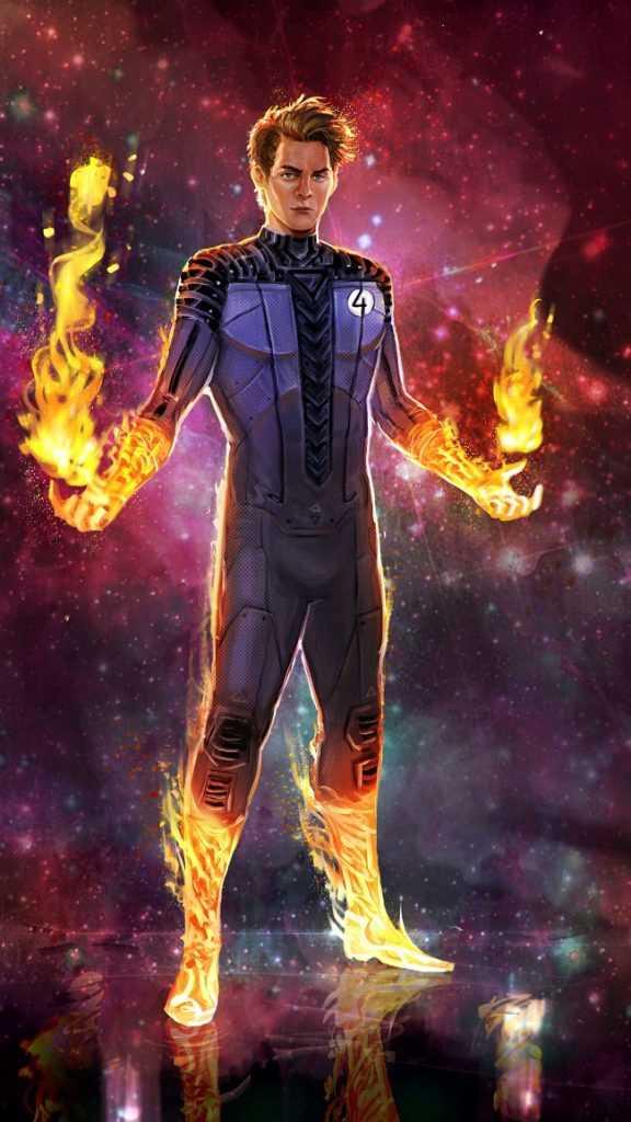 Human Torch Dark Reign