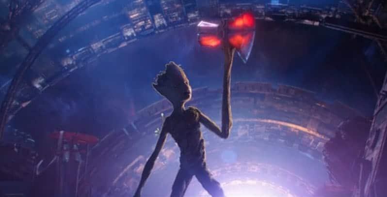 Khả năng tái tạo của Groot