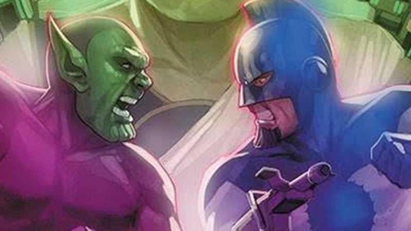 Tộc kree kẻ thù tộc Skrull