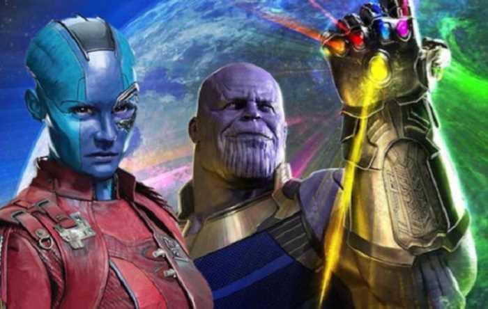 Nebula là con của Thanos