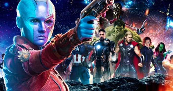 Nebula và nhóm Avengers