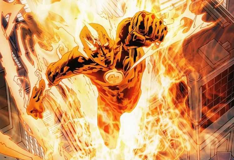 nhân vật Human Torch
