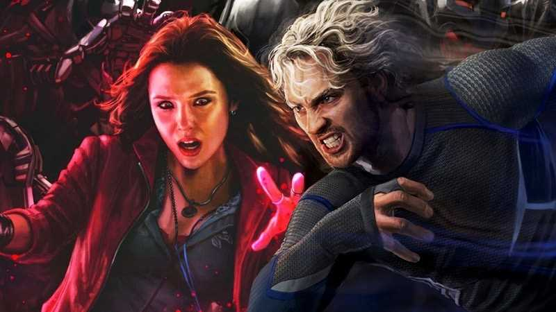 quicksilver và scarlet witch