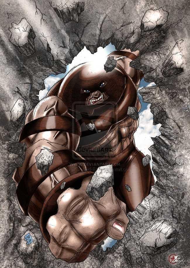 sức mạnh Juggernaut