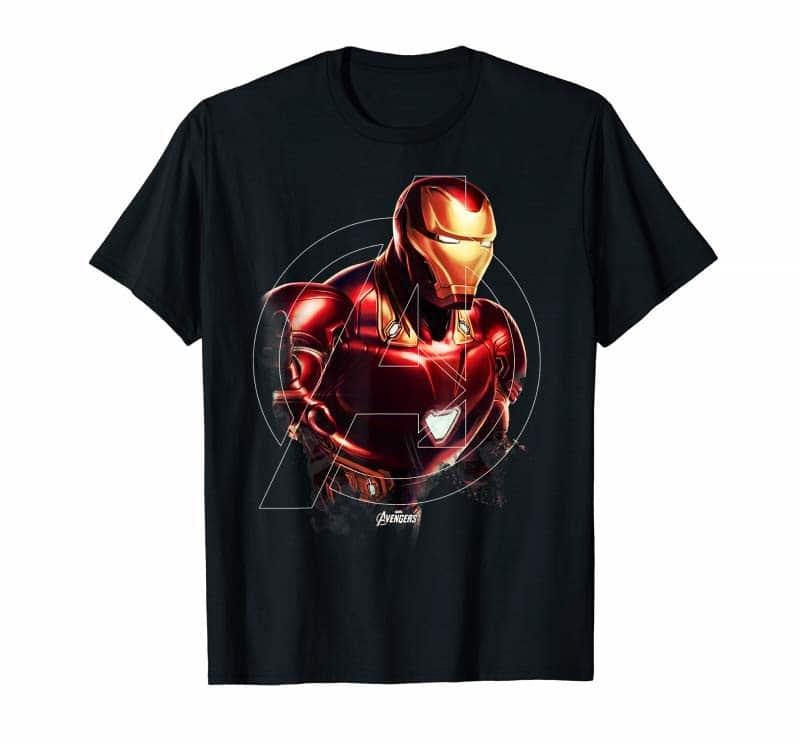 Mẫu áo thun Iron Man