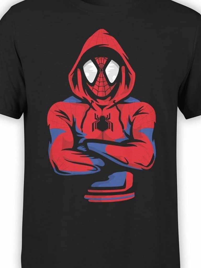 Mẫu áo thun Spider Man