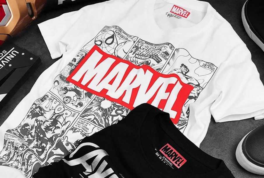 Mê mẩn với những mẫu áo thun Marvel cực ngầu
