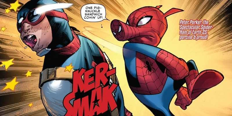 sức mạnh của Spider-Ham