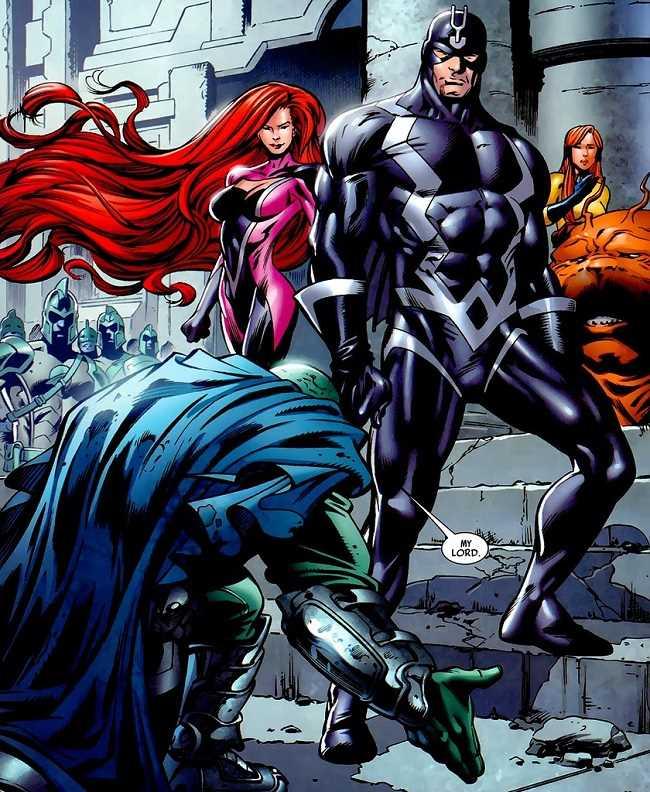 Black Bolt người dẫn dắt Inhuman