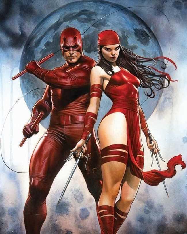 Elektra và DareDevil