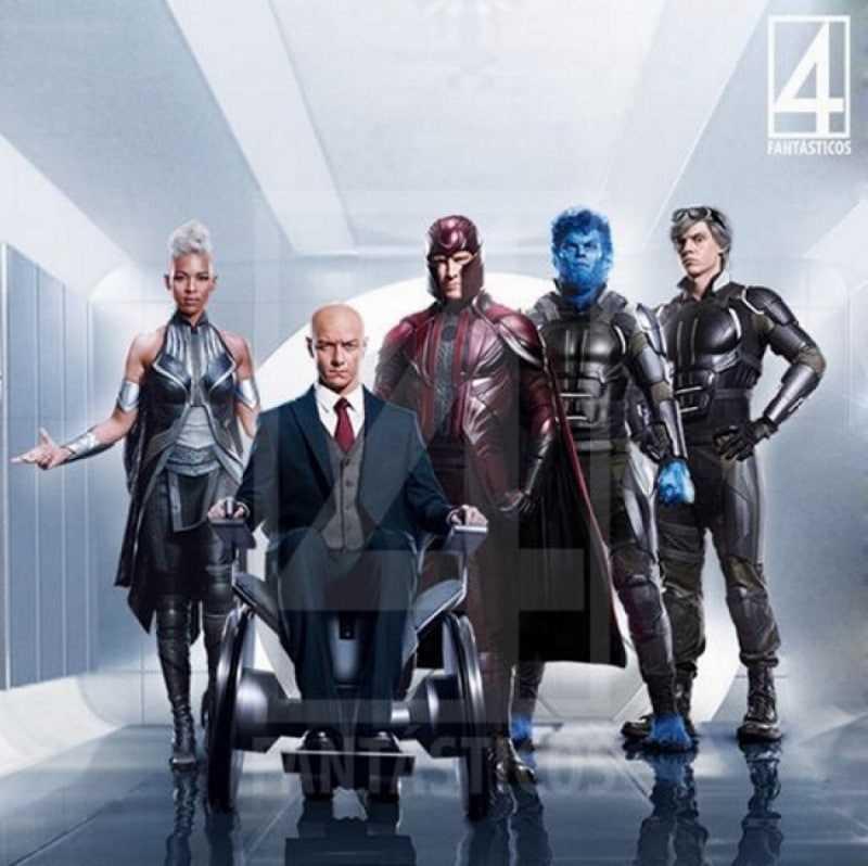 Professor-X và nhóm xmen