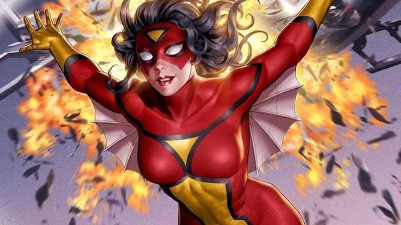 tiểu sử nhân vật Spider Woman