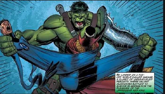 mister fantastic và hulk
