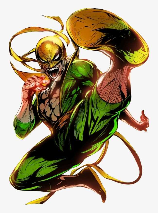 sức mạnh của Iron Fist