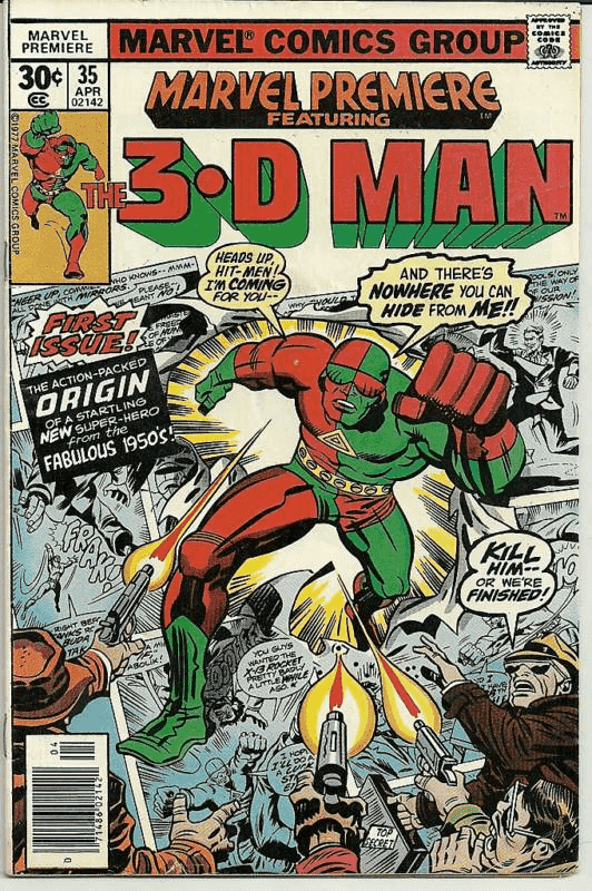 sức mạnh của 3-D Man