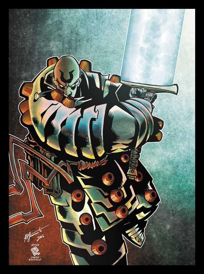 sức mạnh của nhân vật Silver Samurai