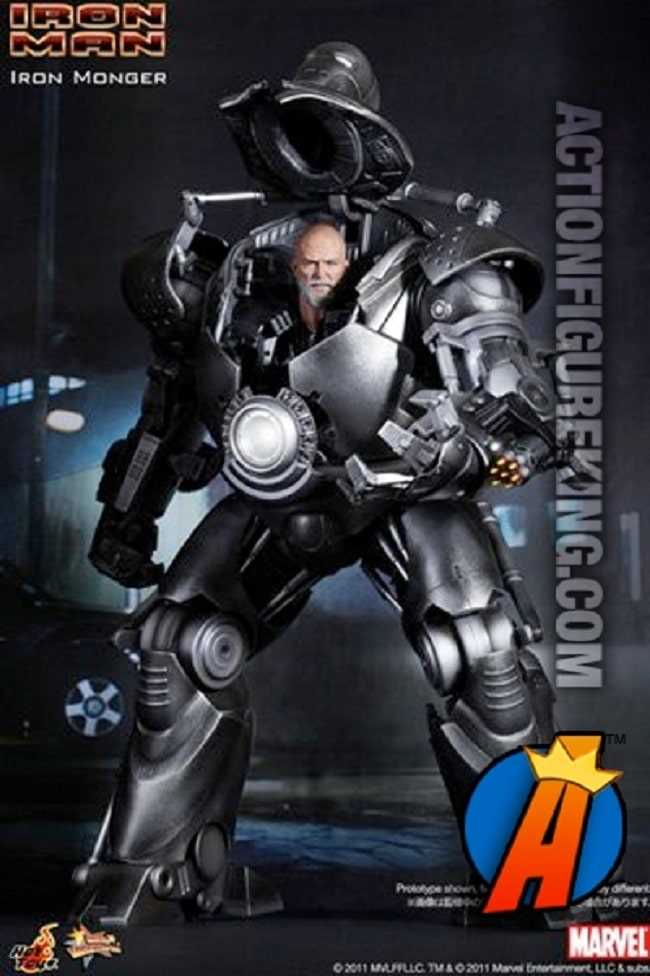 sức mạnh của Iron Monger