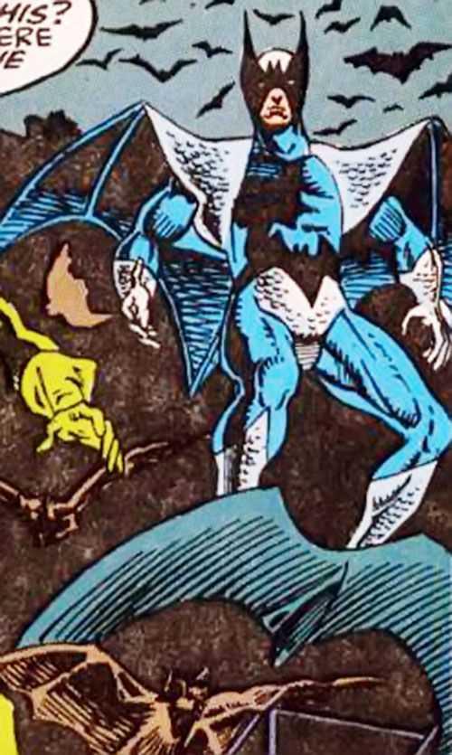 sức mạnh của nhân vật Blackwing