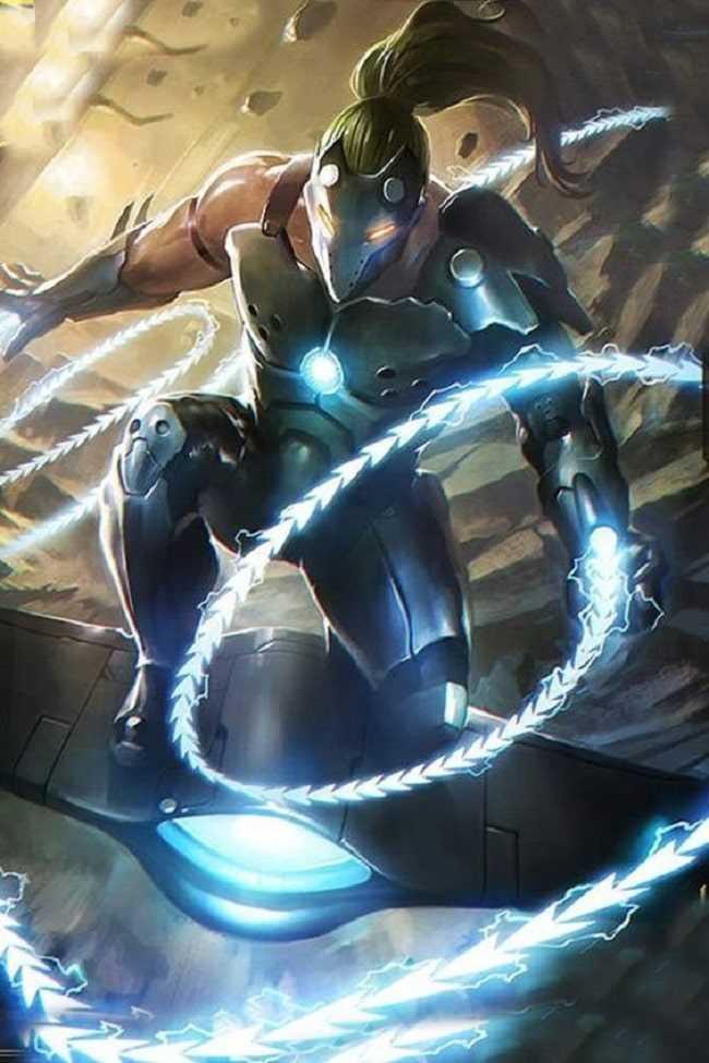 sức mạnh của nhân vật whiplash
