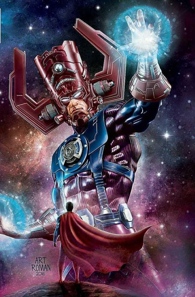 nhân vật Galactus là ai
