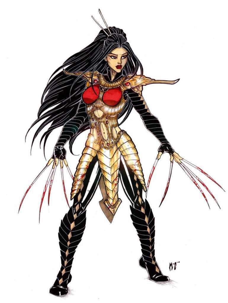 nhân vật Lady Deathstrike