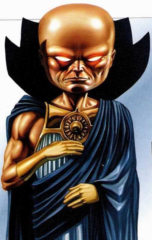 sức mạnh của nhân vật UATU THE WATCHER