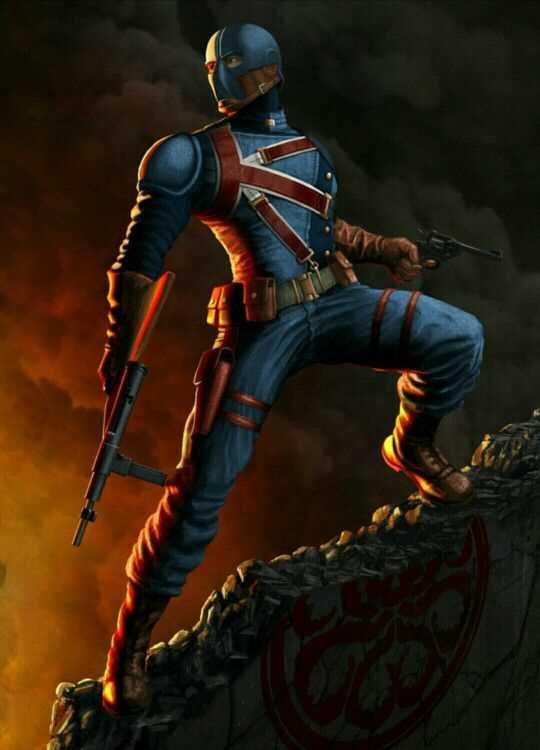 sức mạnh của nhân vật Union Jack