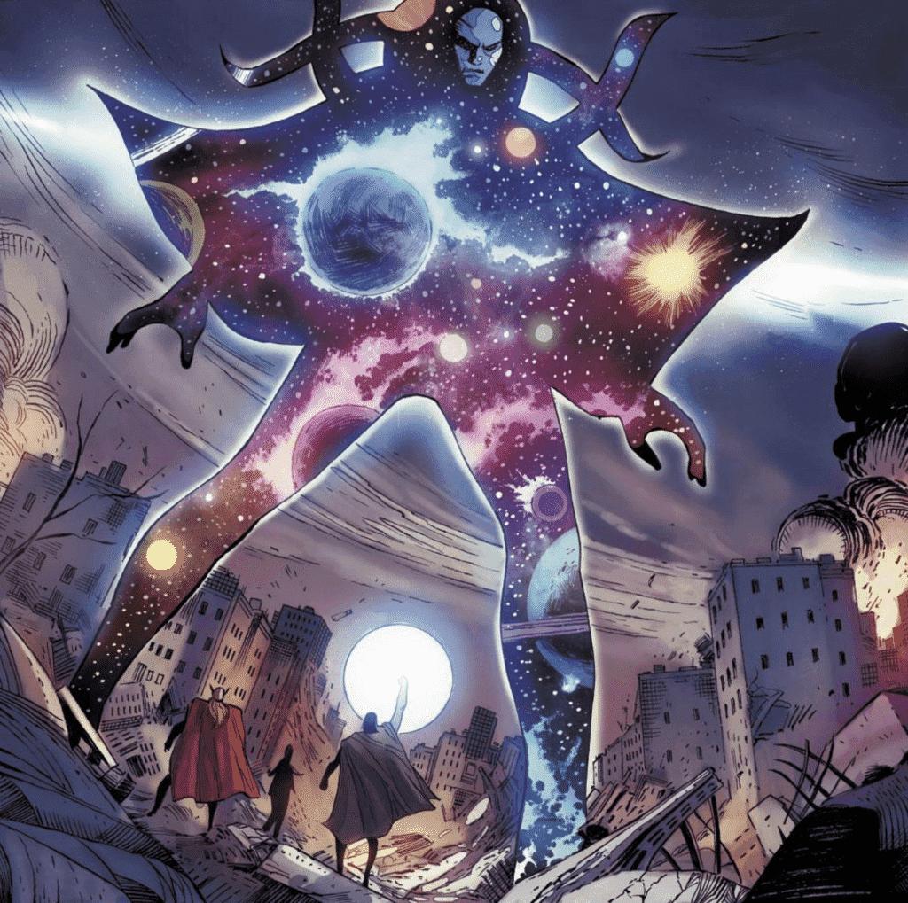 sức mạnh của nhân vật Eternity