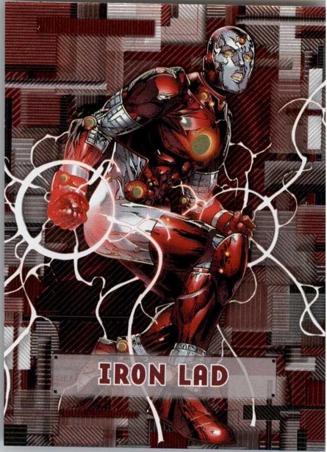 sức mạnh của nhân vật Iron Lad