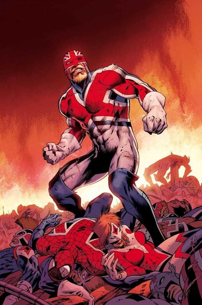 tiểu sử nhân vật Captain Britain