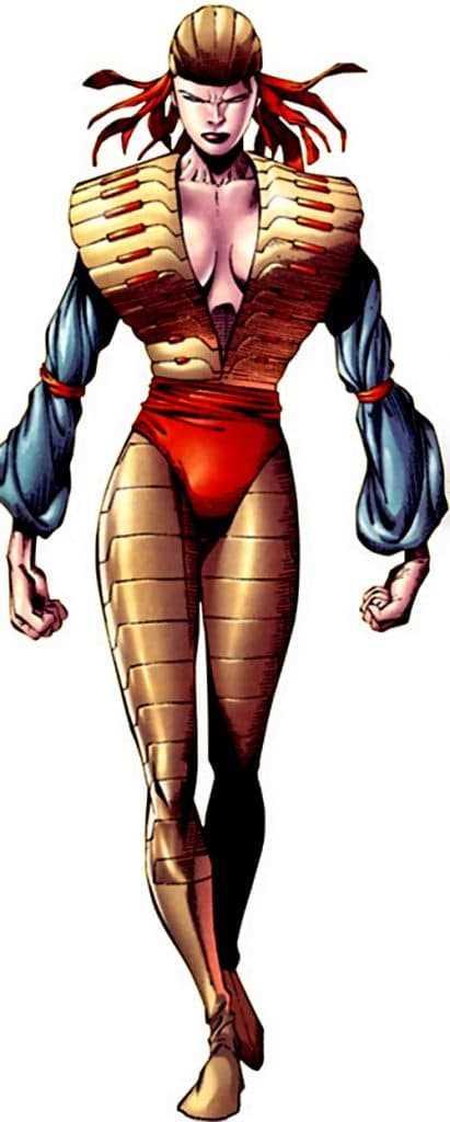 tiểu sử nhân vật Lady Deathstrike