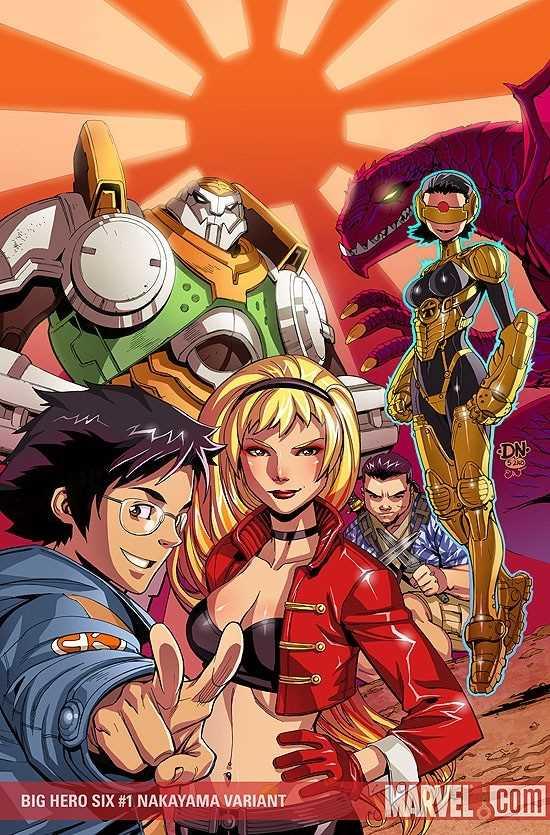 tiểu sử nhóm Big Hero 6