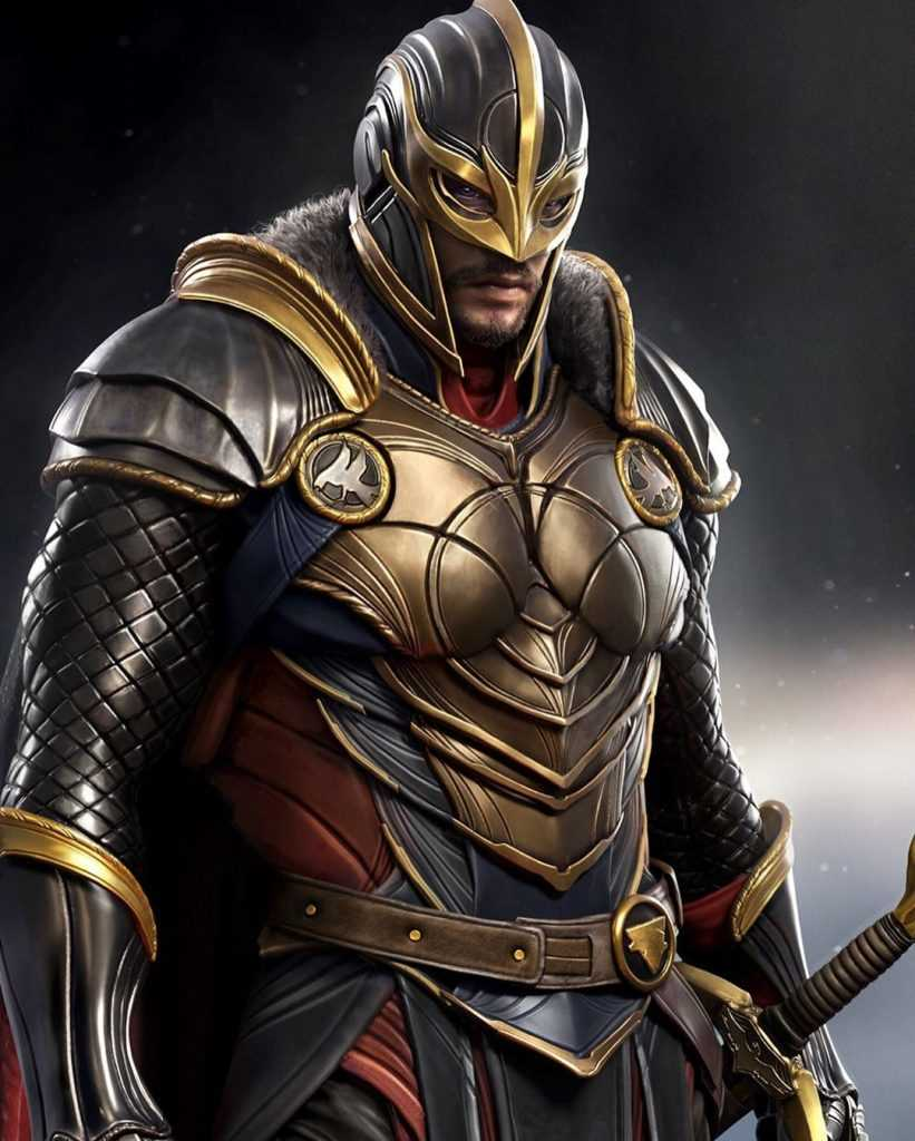 tiểu sử nhân vật Black Knight